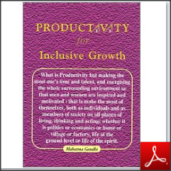 Postcards on inclusive growth